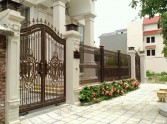 LUXURY ALUMINUM GATE IN VIETNAM